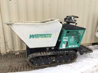 Whiteman 16cu ft  Cement Buggy   WTB16