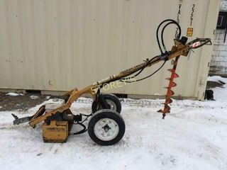 Easy Auger II Hydraulic Fence Post Auger w