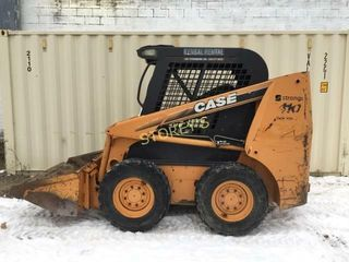 Case 410 Skid Steer loader w  Gravel