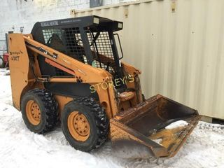 Case 40XT Skid Steer loader w  Gravel