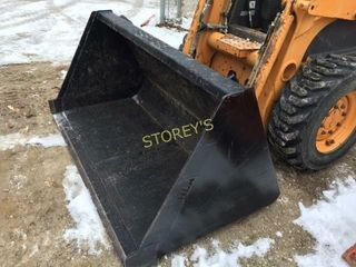 60  Snow Bucket Skid Steer Attachment