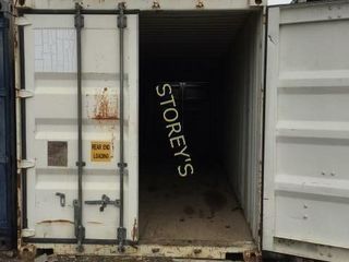 40  Sea Containers w  Doors on Each End