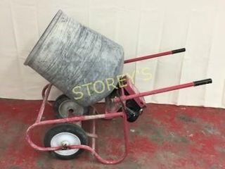 2 cu ft Concrete   Cement Mixer w  Stand