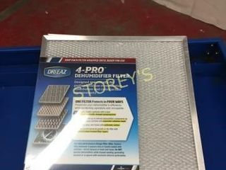 4 NEW Drieaz Dehumidifier Filters   4 Pro