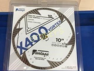 NEW X400 Vortex 10  Saw Blade