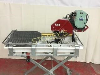 MK 10  Tile Saw w  Coolant Pump