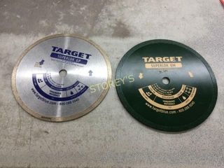 5 NEW 8  Tile Saw Blades