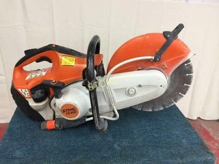 Stihl 12  Gas Cement Saw   TS410