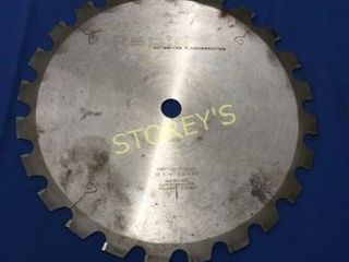 12  Carbide Blade w  20mm Hole