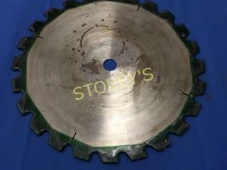 14  Carbide Blade  Sharpened  w  20mm Hole