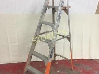 Featherlite 6  Alumin Step ladder