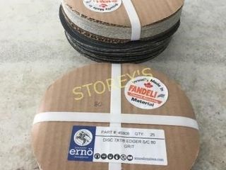 3 Packs of 80 Grit Edger paper