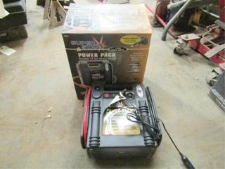 Super Start Power Pack with charger in box