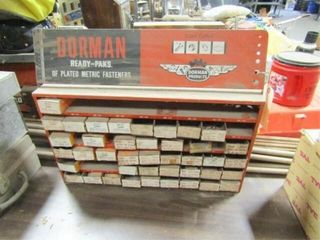 Dorman Parts organizer with contents