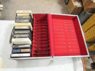 1 Box 8 Track and Cassettes