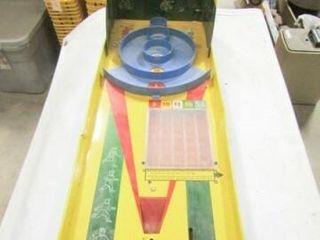 Mar Toys   Metal Skee Ball game  No ball