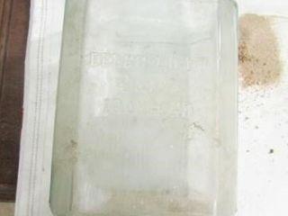 Vintage Delco light Exide Ironclad Battery Jar
