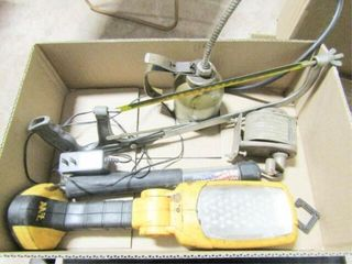 Misc Tools  lights  Hack saw  Oil Can