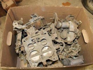 Chevy Quadra Jet Carburetors and parts