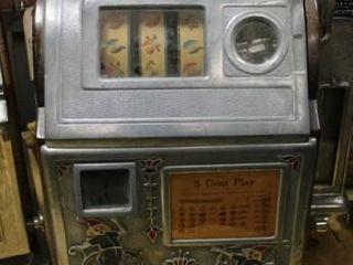 1929 Jennings Dutch Boy Slot Machine