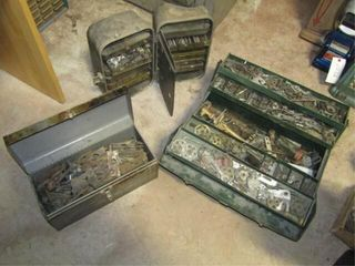 3 Toolboxes of Slot Machine Parts