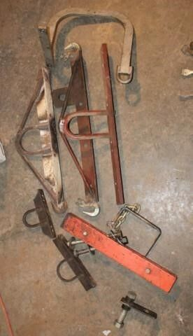 8 Pieces   lifting tools and Brackets