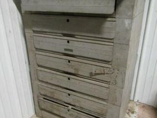 Cabinet with Slot Machine Parts