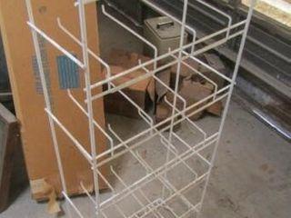 24 Prong Wire Floor Rack