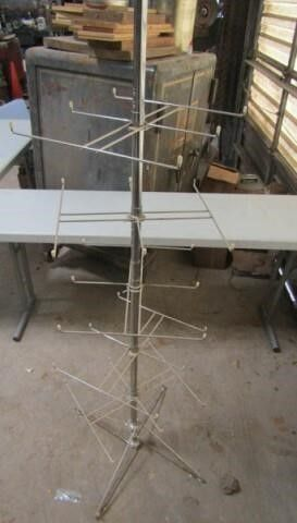 Stand Up Spinning Rack