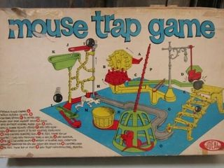 1963 IDEAl Mouse Trap Game