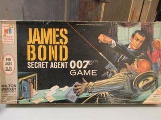 1965 James Bond 007 Secret Agent Board Game