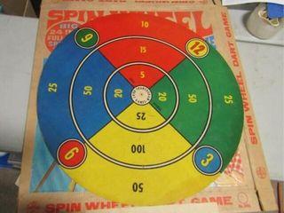1968 Transogram Spin Wheel Game