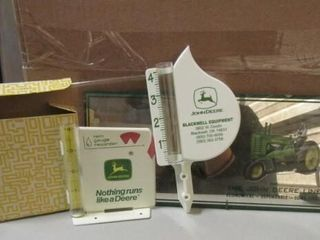 John Deere Thermometer and Mirror