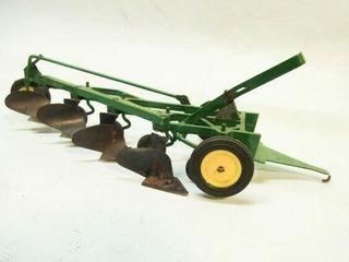 Vintage John Deere 4 Bottom Plow