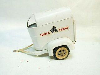 Vintage Tonka Toys Tonka Farms Horse Trailer