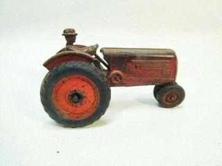 Vintage Arcade Cast Iron Toy Tractor