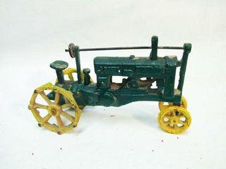 Vintage John Deere OP Cast Iron Tractor
