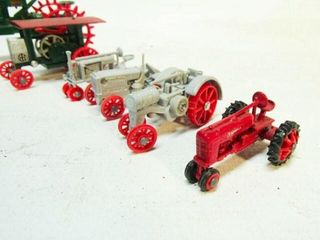 Assorted Tractor Toys