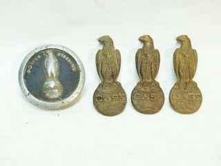 Vintage CASE Emblems