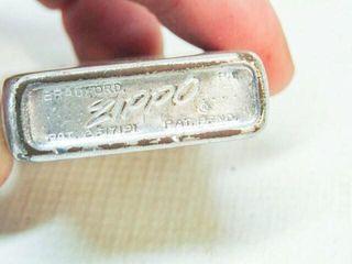 Vintage Zippo lighters