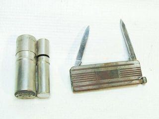 Antique Austrian Pocket Knife  Fire Starter