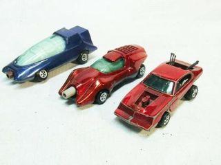 3 Johnny lightning Cars