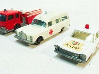 3 Vintage MatchBox Cars