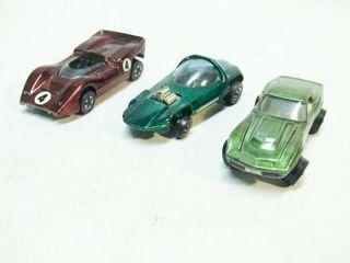 3 Vintage Matel Hot Wheels Cars