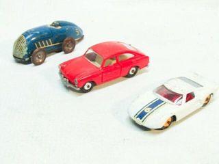 3 Vintage Toy Cars