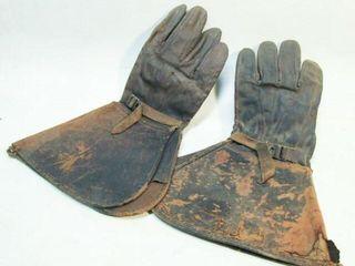 Vintage Military Gloves
