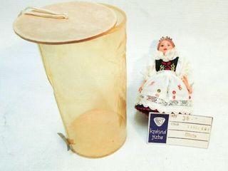 Vintage Hand Made Czech Doll