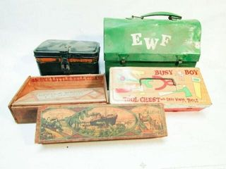 Vintage Boxes and Tins