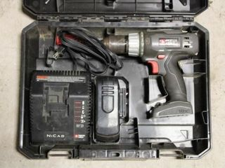 Porter Cable Cordless Drill  1 battery   charger