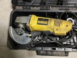DeWalt Angle grinder motor noisy